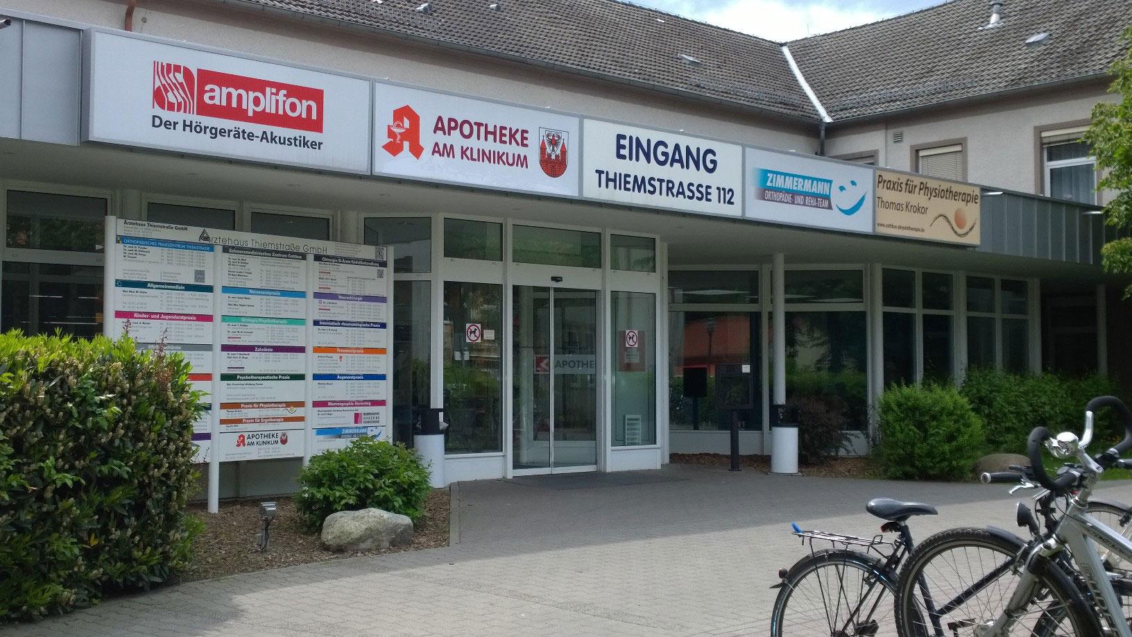 Anfahrt zur Apotheke Am Klinikum in Cottbus