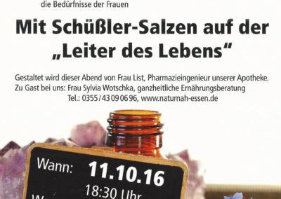 """Mit Schüßler-Salzen auf der """"Leiter des Lebens"""""""