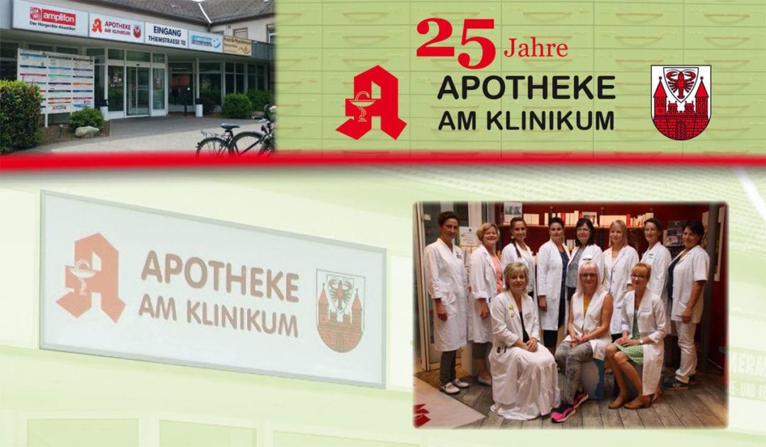 25 Jahre Apotheke am Klinikum